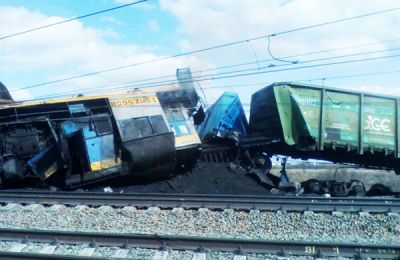 После столкновения двух грузовых поездов на станции Евсино возбуждено уголовное дело