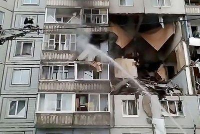 Взрыв газа в жилом доме обсуждают новосибирцы