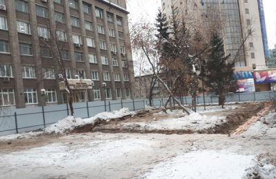 Застройщик сквера у цирка хочет от мэрии 33 млн рублей