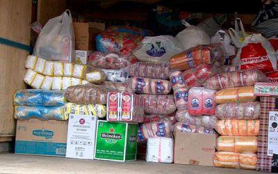 Новосибирцы отправили гуманитарную помощь в Хакасию