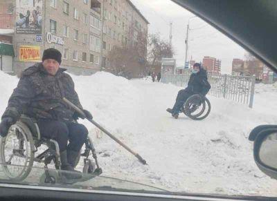 Инвалид получил квартиру после чистки снега в Искитиме