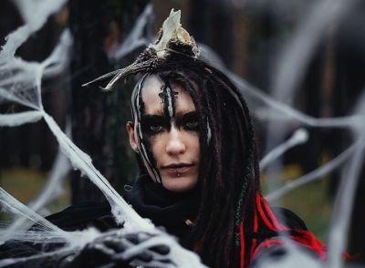 Костяная ведьма бродила в новосибирском лесу