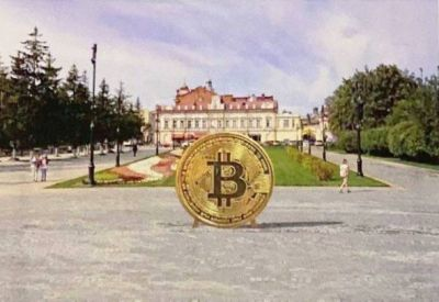Первый в России позолоченный памятник биткоину предложили установить в Томске