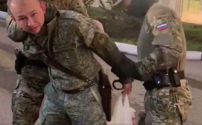 ФСБ показало кадры задержания сибирского ракетчика — его обвиняют в госизмене