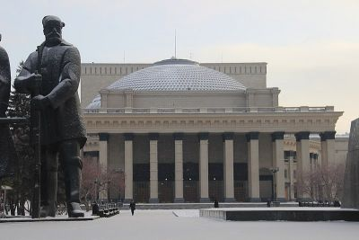 Купол и балетное крыло НОВАТа отремонтируют за 1,3 млрд рублей