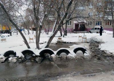 Новосибирцы пожаловались на отключение водоснабжения