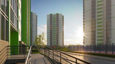 Возле площади Маркса возводится жилой комплекс с квартирами от 1,45 млн