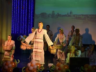 В Пашино поздравили Калининский район с днем рождения (фоторепортаж)