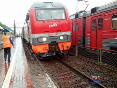 Кто пустил поезд под откос на Речном вокзале?
