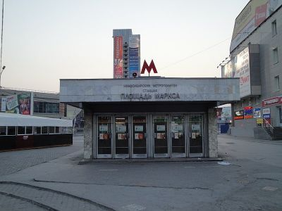 Новый вход на станцию метро «Площадь Маркса» откроется в 2023 году