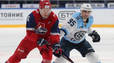 Второе поражение ХК «Сибирь» потерпел в новом году