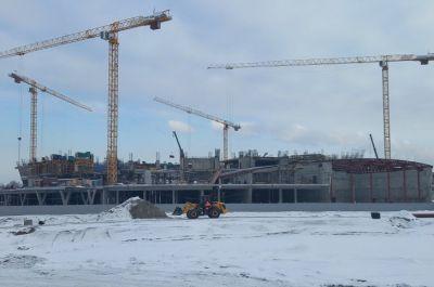 Слава Степанов показал новый ЛДС в Новосибирске с высоты
