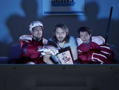 У фаната «Сибири» арестовали телевизор во время матча с «Ак Барсом»