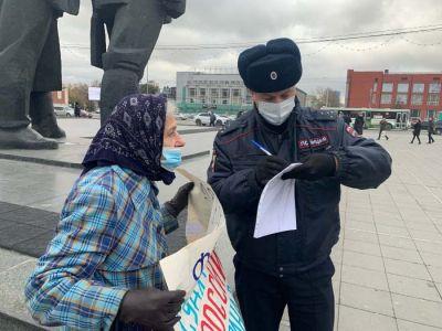 Полиции больше, чем протестующих: новый пикет в поддержку Фургала проходит в Новосибирске