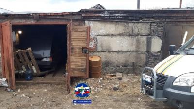 Новосибирец умер в гараже после ссоры с женой