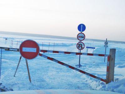 Все ледовые переправы начали работать под Новосибирском