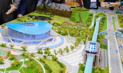 Вид завораживает: новосибирец снял круговую панораму строящегося ЛДС