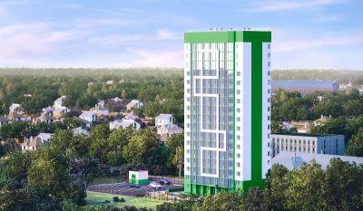 В Новосибирске зацвела «Акация»: в новостройке возводится уже второй этаж