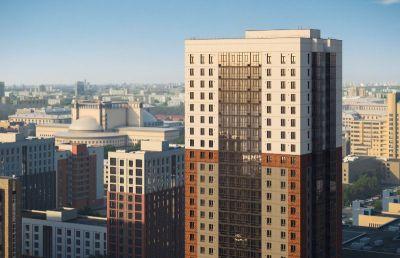 В радиусе 800 метров от площади Ленина строится единственный многоэтажный дом класса «бизнес-лайт»