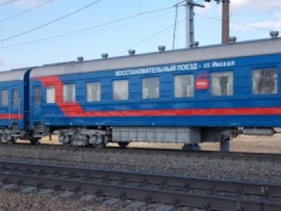 Три вагона сошли с рельсов под Новосибирском