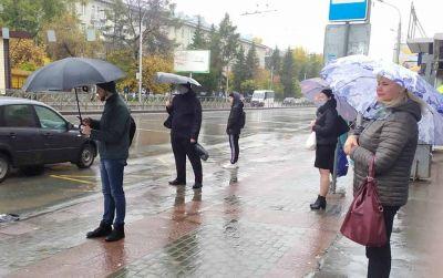 Тонны воды прольются на Новосибирск и первый снег