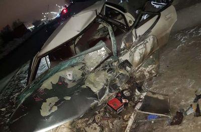 Парень и девушка попали в больницу после ДТП с КАМАЗом в Новосибирске
