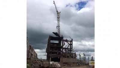 Крановщик погиб при разборе заводского здания в Куйбышеве