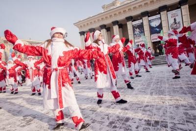 Морозные вытворяшки, хрустальная ледянка и салюты ждут новосибирцев в новогодние каникулы