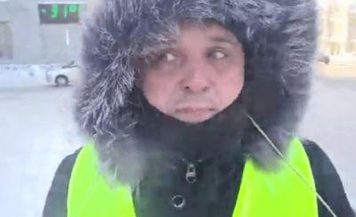 Новосибирцы вышли на улицу с плакатами в суровый мороз