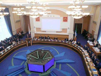 Повестка дня сорок четвертой сессии Совета депутатов города Новосибирска шестого созыва