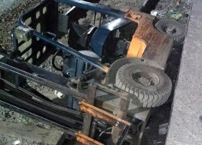 Проводник и водитель пострадали на перроне вокзала Новосибирск-Главный