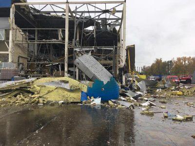 Взрыв произошел на производстве в Новосибирске