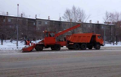 Мэрия Новосибирска закупит снегоуборочную технику на 150 млн рублей