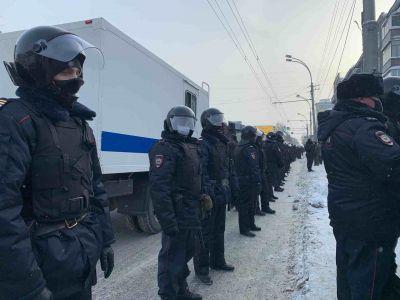 Молодого эпилептика спасли во время митингов в Новосибирске