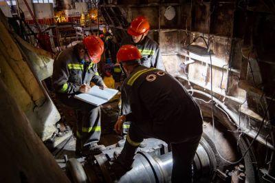 СГК провела ремонт ротора турбины Новосибирской ТЭЦ-4 на Урале