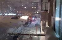 В городе Обь из пожара спасли двух мужчин