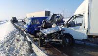 Обгон завершился трагедией на трассе под Новосибирском