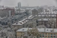 Снежная погода продержится в Новосибирске минимум три дня