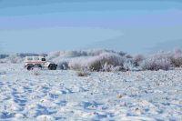 Замерзающего в -40 дальнобойщика спасли с новосибирской трассы