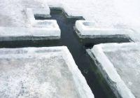 Любители купаться в проруби на Крещение рискуют получить штраф в Красноярске