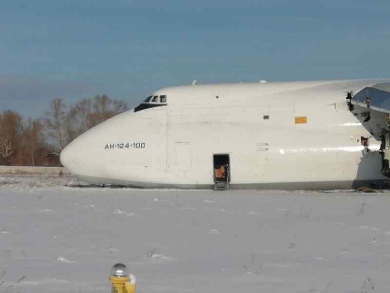 Отказ двигателя у Ан-124 в Толмачево объяснили разрушением одного элемента