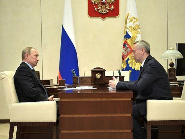 Встреча Путина и Травникова: сразу к делу!