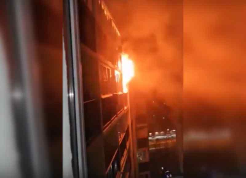 Из горящего дома в Первомайском районе спаслись 15 взрослых и ребенок