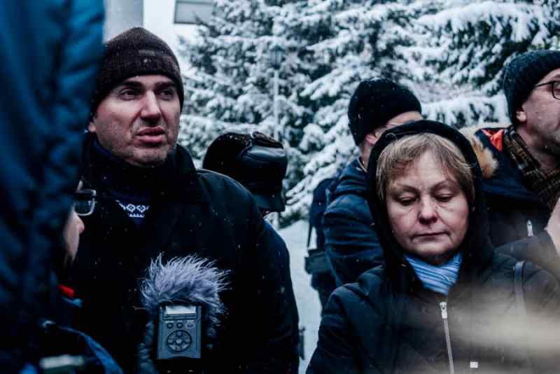 Министр Хальзов пришел на пикет врачей скорой и не увидел проблем