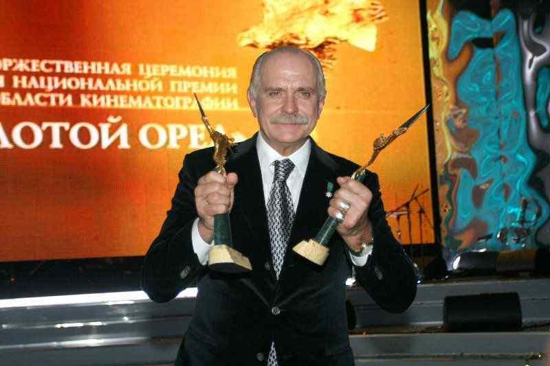 Никита Михалков отмечает юбилей - 75 лет