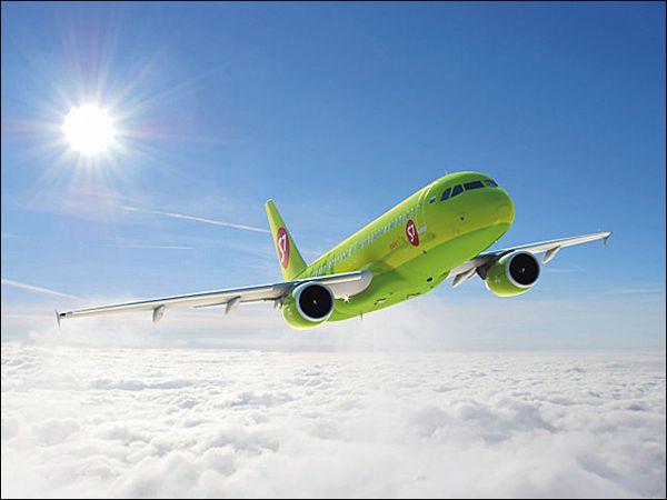 Самолеты S7 поменяют цвет