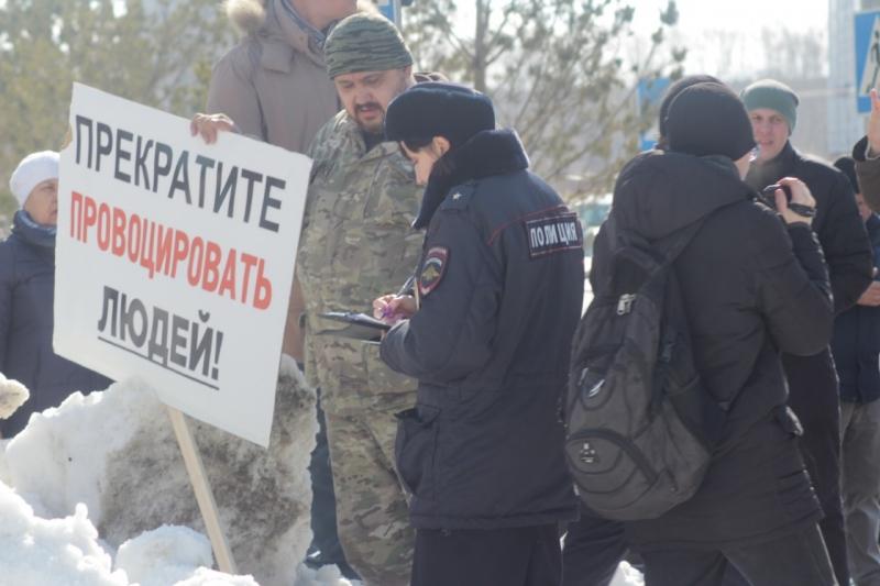 Жители Просторного выступили против политизации своей жизни