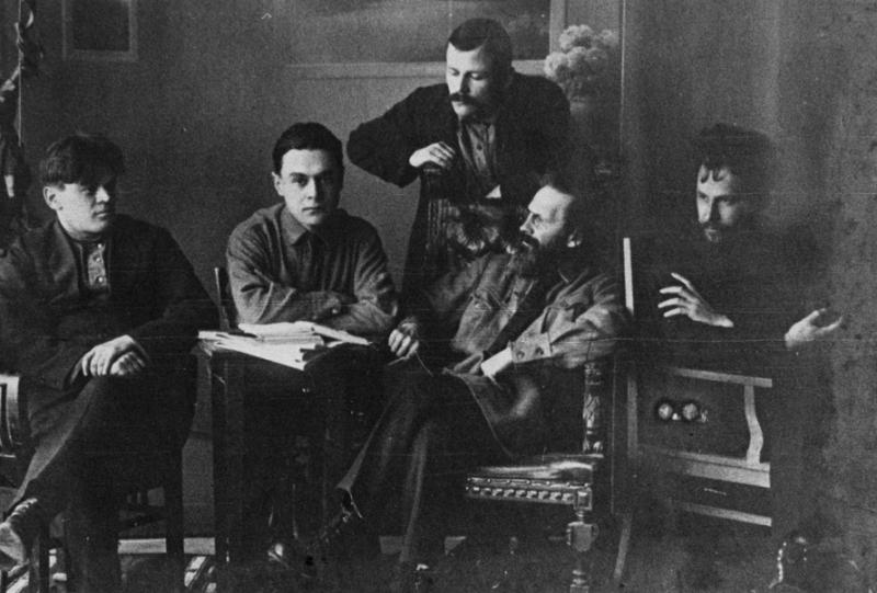 Погибшие в сталинских лагерях писатели Давид Тумаркин, Вивиан Итин, Михаил Басов, Вениамин Вегман, Владимир Зазубрин