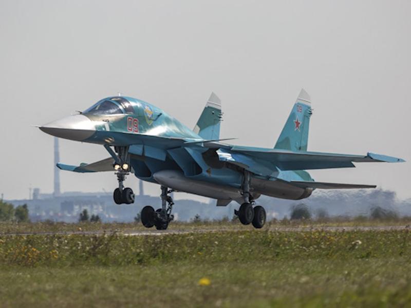 Новосибирский авиазавод поставил в российскую армию два истребителя Су-34