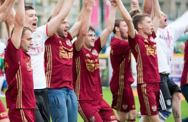 Новосибирцы в составе сборной России стали третьими на ЧМ по футболу среди бездомных